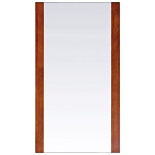 "Avanity Cosmo 20"" Wide Chestnut Wall Mirror   #V4893"