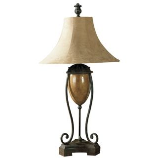 Uttermost Madero Amphora Porcelain and Iron Table Lamp   #52058