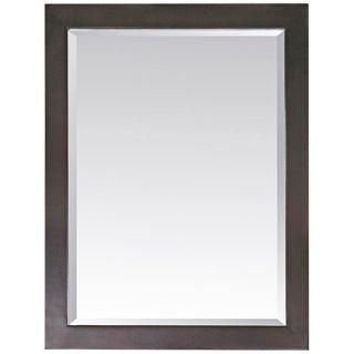 "Venisia Black 33 1/2"" High Rectangular Wall Mirror   #R9032"