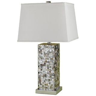 Candice Olson Abalone Shell Table Lamp   #F9866