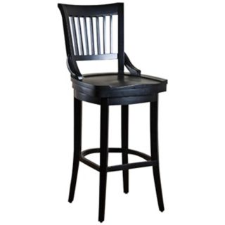 "American Heritage Liberty Black 26"" High Counter Stool   #N0937"