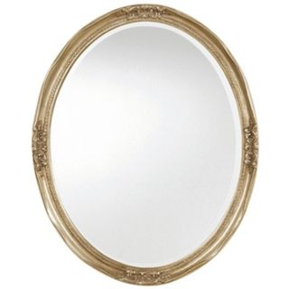 "Uttermost Newport Silver Leaf Finish 31"" High Wall Mirror   #J6379"