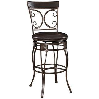 Seating Vintage Th Brown Bar Stools