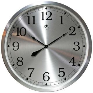 "Radiance 31 1/2"" Round Aluminum Framed Wall Clock   #W0998"