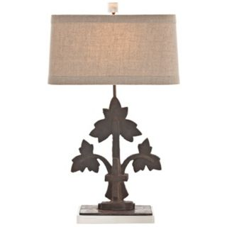Arteriors Home Oakely Cast Iron Table Lamp   #Y6823