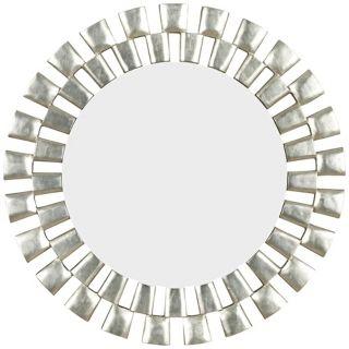"Morningtide Silver 36"" High Wall Mirror   #T5033"