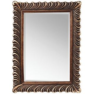 """Kichler Quill 47"""" High Silver and Bronze Wall Mirror   #X5820"""