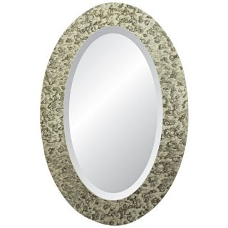 "Moulin Rouge Signature 36"" High Oval Wall Mirror   #X3060"