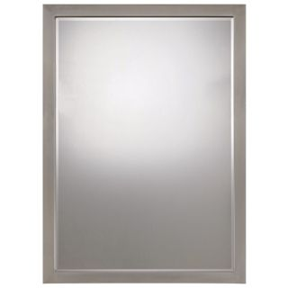 "Paradox  Brushed Nickel Finish 33"" High Wall Mirror   #33846"