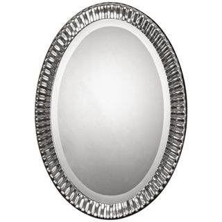 "Uttermost Lacota 34"" High Oval Decorative Wall Mirror   #X8348"