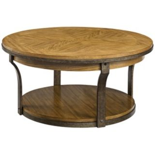 Vero Round Wooden End Table   #Y2140