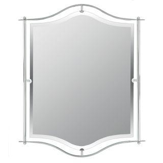 """Quoizel Demitri Chrome 32"""" High Wall Mirror   #65317"""