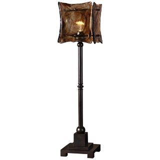 Uttermost Vetraio II Toffee Art Glass Shade Table Lamp   #R6520