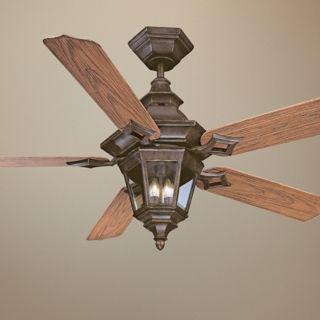 """52"""" Savoy House Chatsworth Walnut Patina Ceiling Fan   #N1989"""