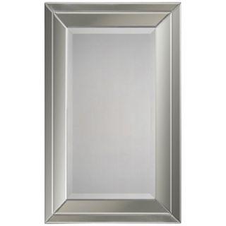 "Frameless Beveled Rectangular 38"" High Wall Mirror   #M3568"
