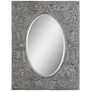 "Uttermost Silanus 44"" High Rectangular Wall Mirror   #W2578"