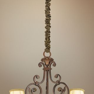 "Bronze Silk 46 1/2"" Long Chandelier Chain Cover   #20314"
