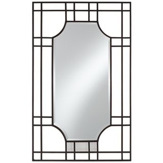 "Uttermost Sillaro 46"" High Open Metal Work Wall Mirror   #X7613"
