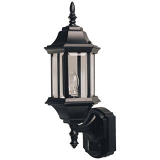 Pleasant Hill Black ENERGY STAR Outdoor Wall Light   #H6926
