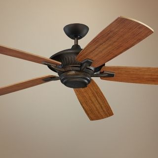 "60"" Monte Carlo Cyclone Energy Star  Indoor Out Ceiling Fan   #54475"
