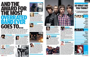 Julian Casablancas The Strokes Arctic Monkeys Pearl Jam NME Magazine