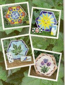 Mosaic Stained Glass Supplies Tiffany Garden Pattern BK