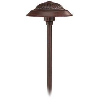Hinkley Saucer Southern Clay Low Voltage Path Light   #75459
