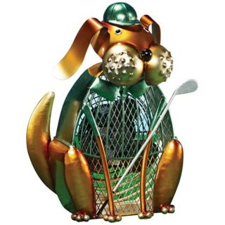 Dog Glofer Figurine Decorative Desk Fan   #T1347
