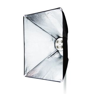 Julius Studio Photo High Quality 4 Light Holder w/ 16 x 24 Softbox