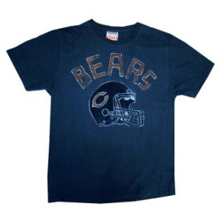 Chicago Bears Helmet USA NFL Junk Food Vintage Style Football Adult T