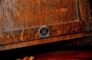 Junghans 1939 WW2 Large Antique Mantle Clock Unique 25 inch Art Deco