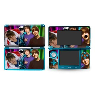 Justin Bieber DECAL Skin Sticker P193 Cover for Nintendo 3DS N3DS
