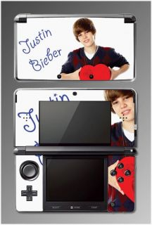 Justin Bieber Song Music Game Skin 27 for Nintendo 3DS