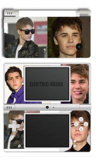 Nintendo DSi Justin Bieber Skin Hair Cover Dsibiebshair