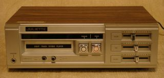 Juliette Solid State 8 Track Stereo / Quadraphonic Tape Player (Model