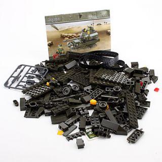 USD $ 15.48   SLUBAN 3D DIY Puzzle T90 Tank Building Blocks Bricks Toy
