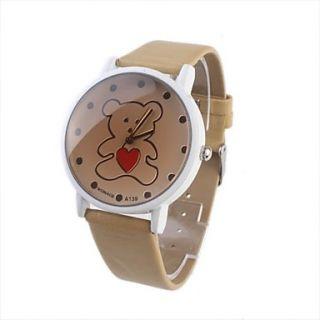 EUR € 4.41   adorável urso de moda jovem relógio de pulso mulheres