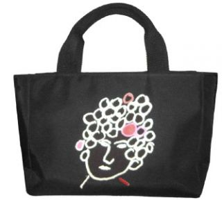Kate Spade Maira Kalman Graphic Black Tote Perfect