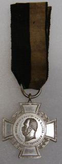 Kaiser Wilhelm I Medal German Landwehr Verein Cross
