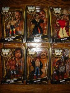WWE Legends Set of 6 Series 2 Jimmy Superfly Snuka Kamala Etc