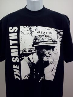 The Smiths Mens T Shirt Morrissey Band New Size SM Med LG XL Meat Is