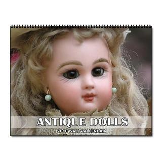 2010 Antique Dolls Wall Calendar for 2013