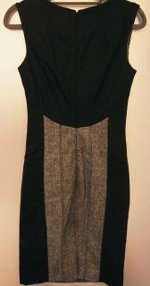Karen Millen Gray Classic Sleeveless Dress UK 10 US6