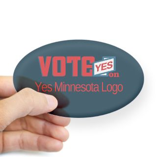 Vote Yes Minnesota Logo Stickers  Car Bumper Stickers, Decals