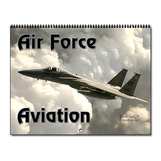 Air Force Aviation Wall Calendar for 2013