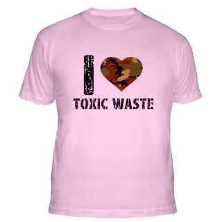 Love Toxic Waste T Shirts  I Love Toxic Waste Shirts & Tees