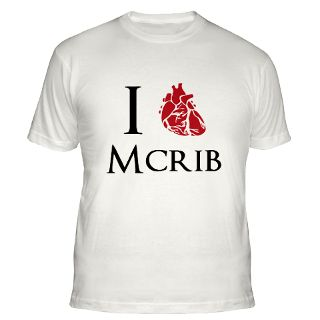 Love Mcrib Gifts & Merchandise  I Love Mcrib Gift Ideas  Unique