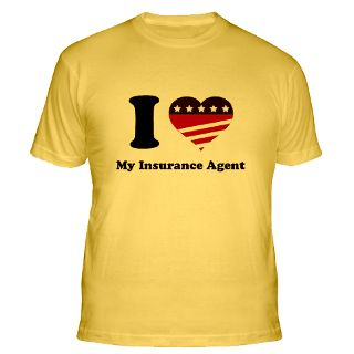 Love My Insurance Agent Gifts & Merchandise  I Love My Insurance