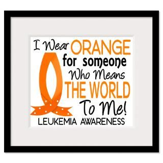 Wear Orange Ribbon For My Grandson Framed Prints  I Wear Orange