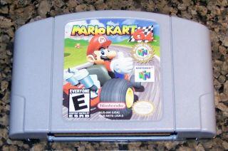 N64 Mario Kart 64 Nintendo 64 Game Cartridge Only
